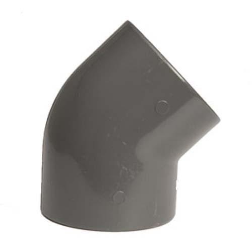 PVC Winkel 45° 90 mm 10 Bar