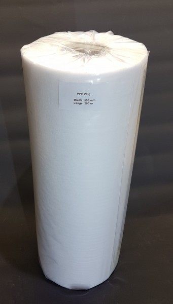 Universal Filtervlies 500m x 50cm Kern 70 mm 20gr/m²
