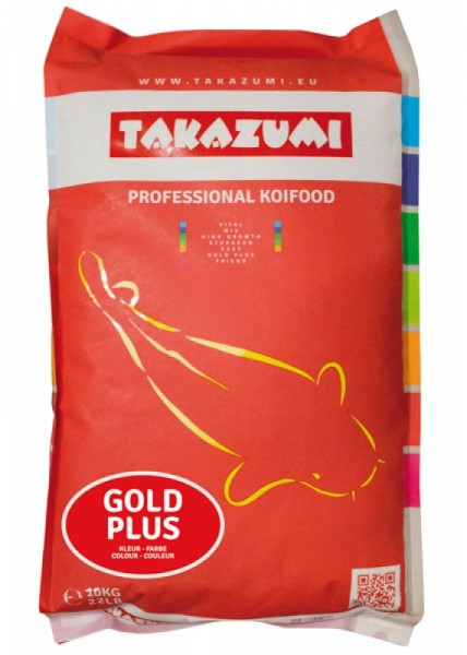 Takazumi Gold Plus Ganzjahresfutter 10 kg Ø 4,5 mm