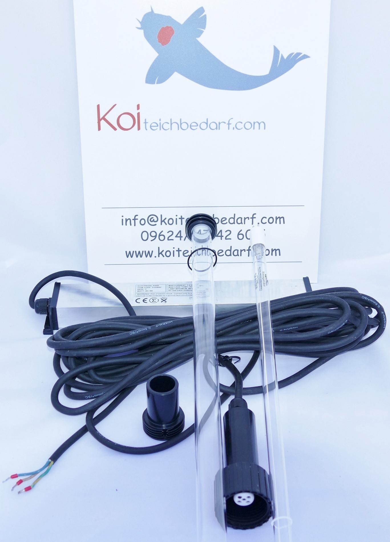 Ersatzlampe für Tauch UVC 40 Watt Amalgam Aquaforte und andere